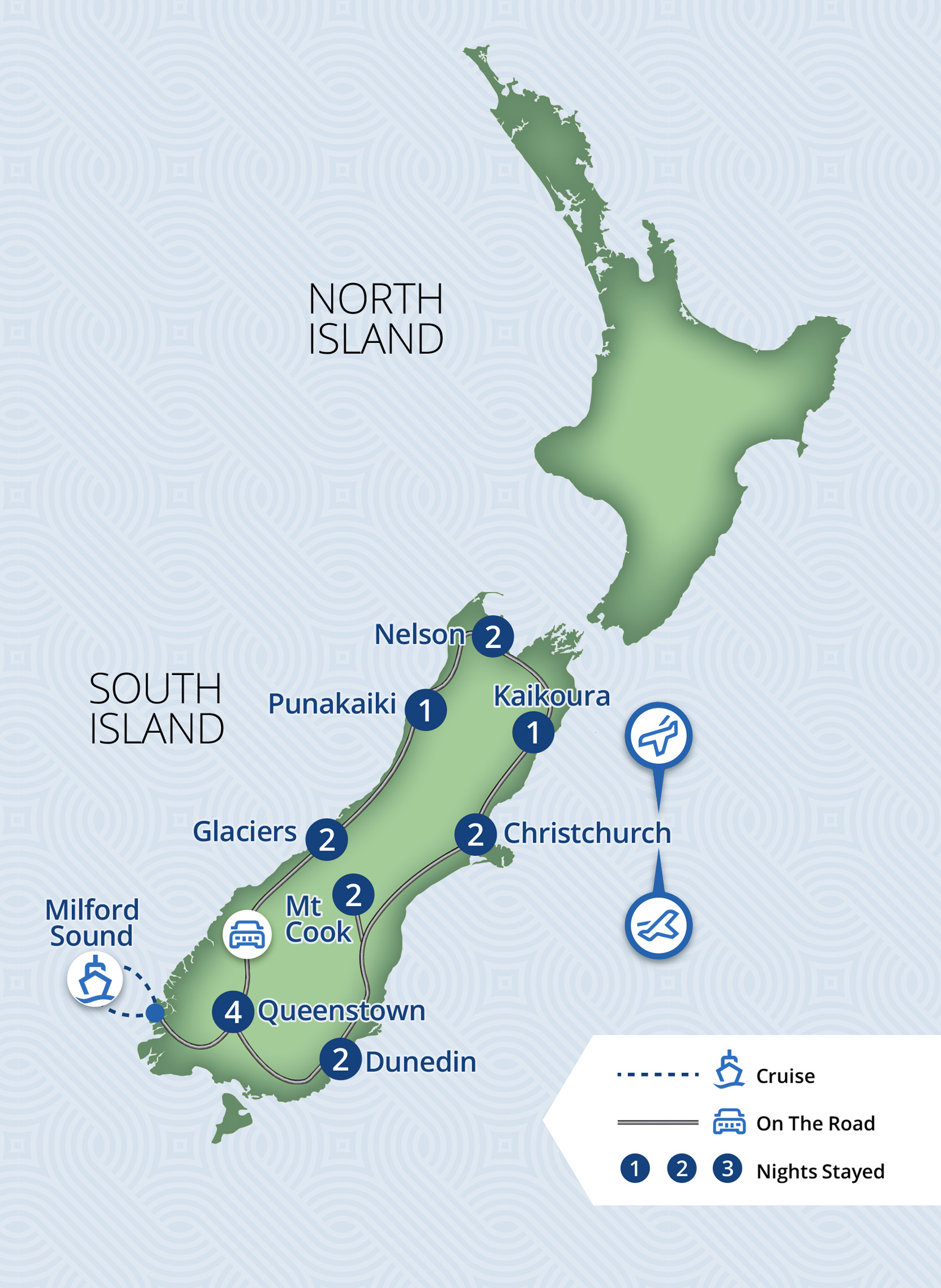 17 Day Complete South Island