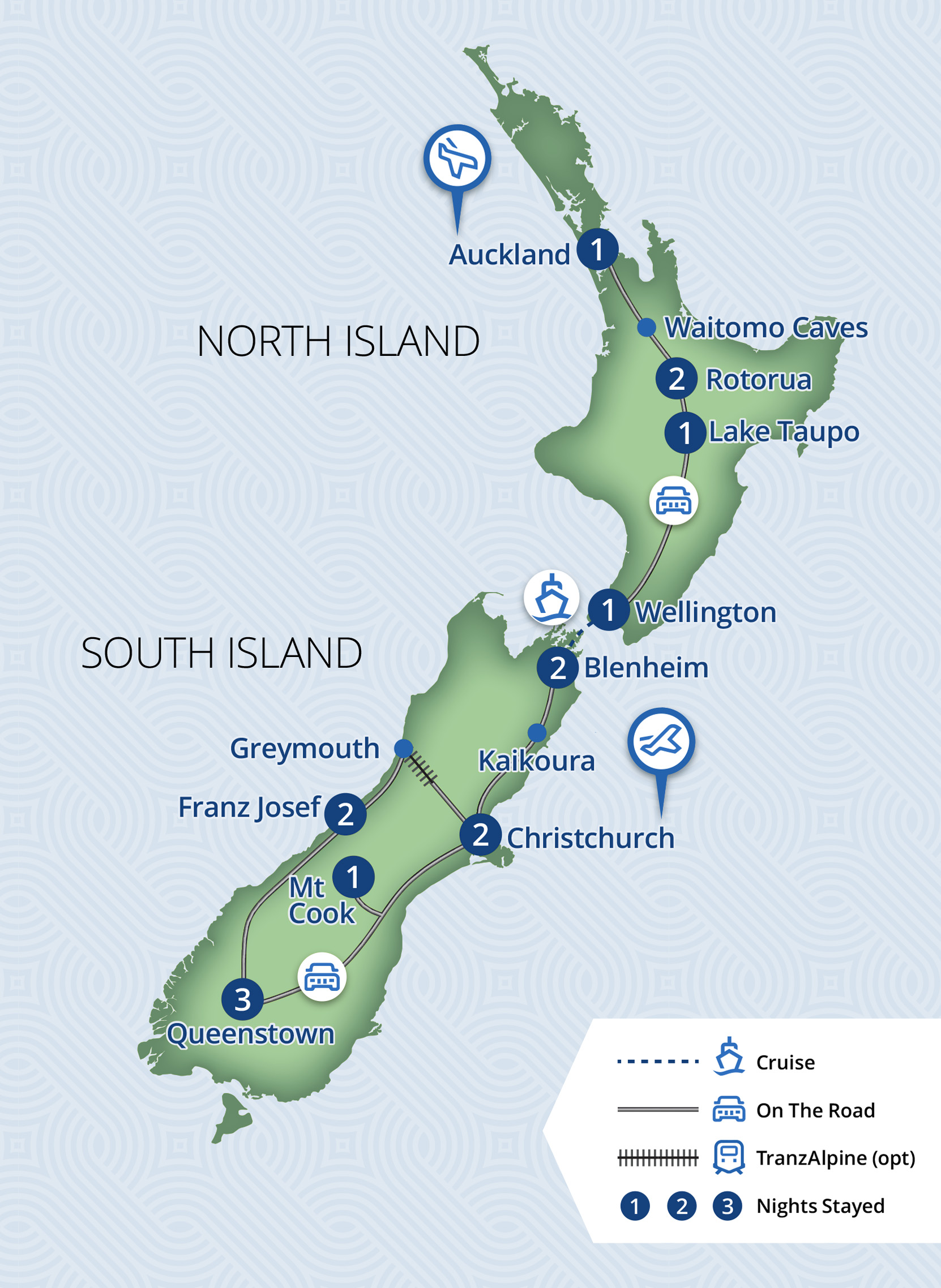 16 Day Essence Of New Zealand