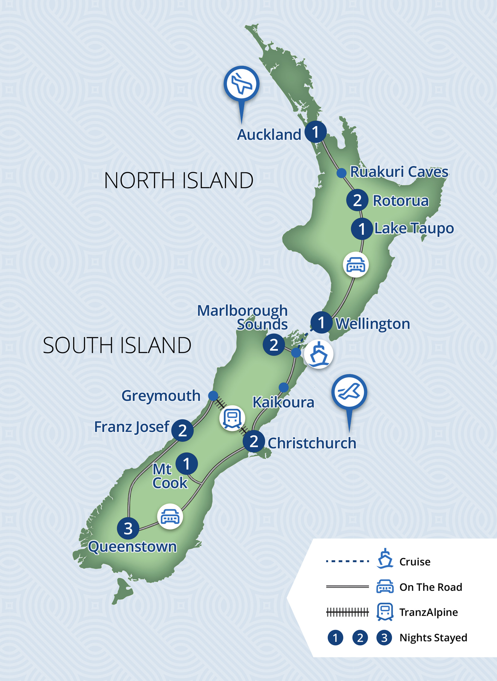 Relaxing Journeys Com Nz Drive Tours North Island