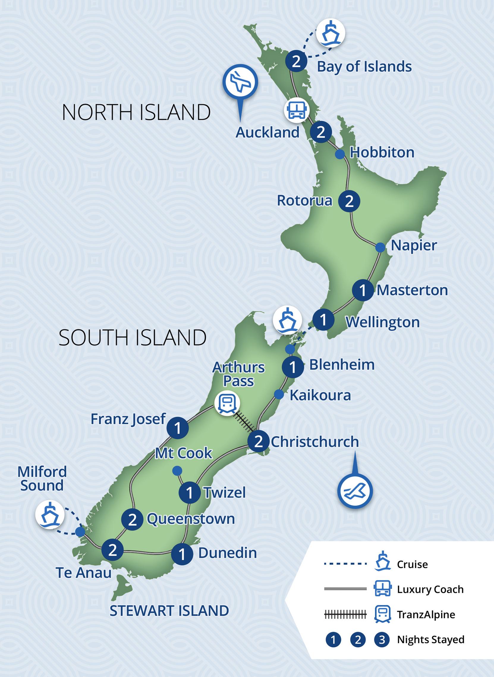 19 Day New Zealand Showcase Tour