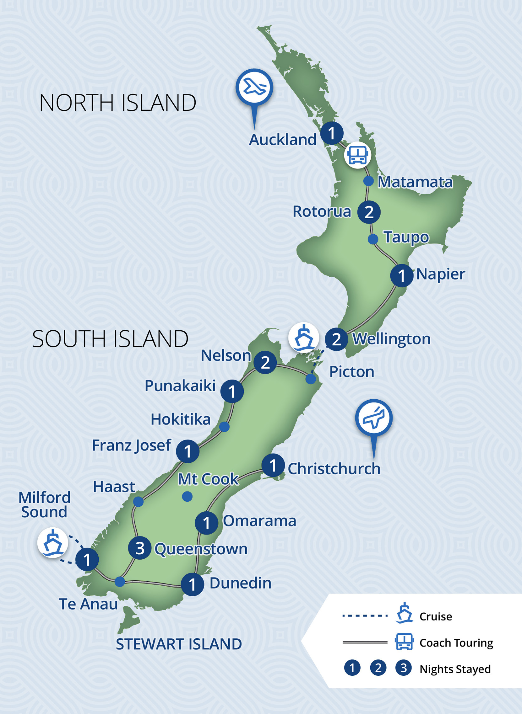 18 Day Essence of New Zealand