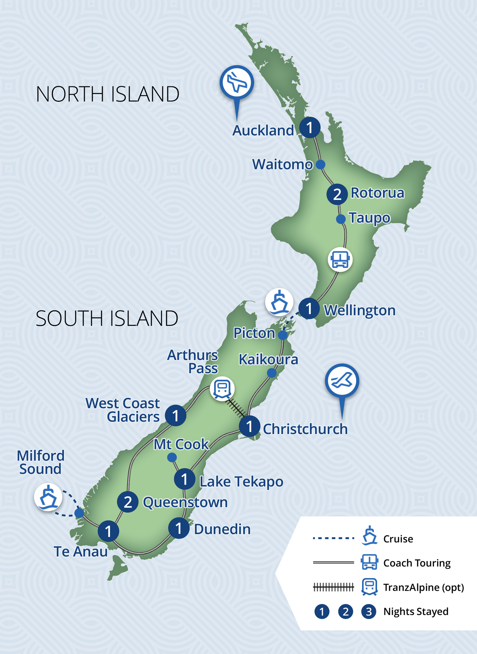 12 Day New Zealand Discoverer