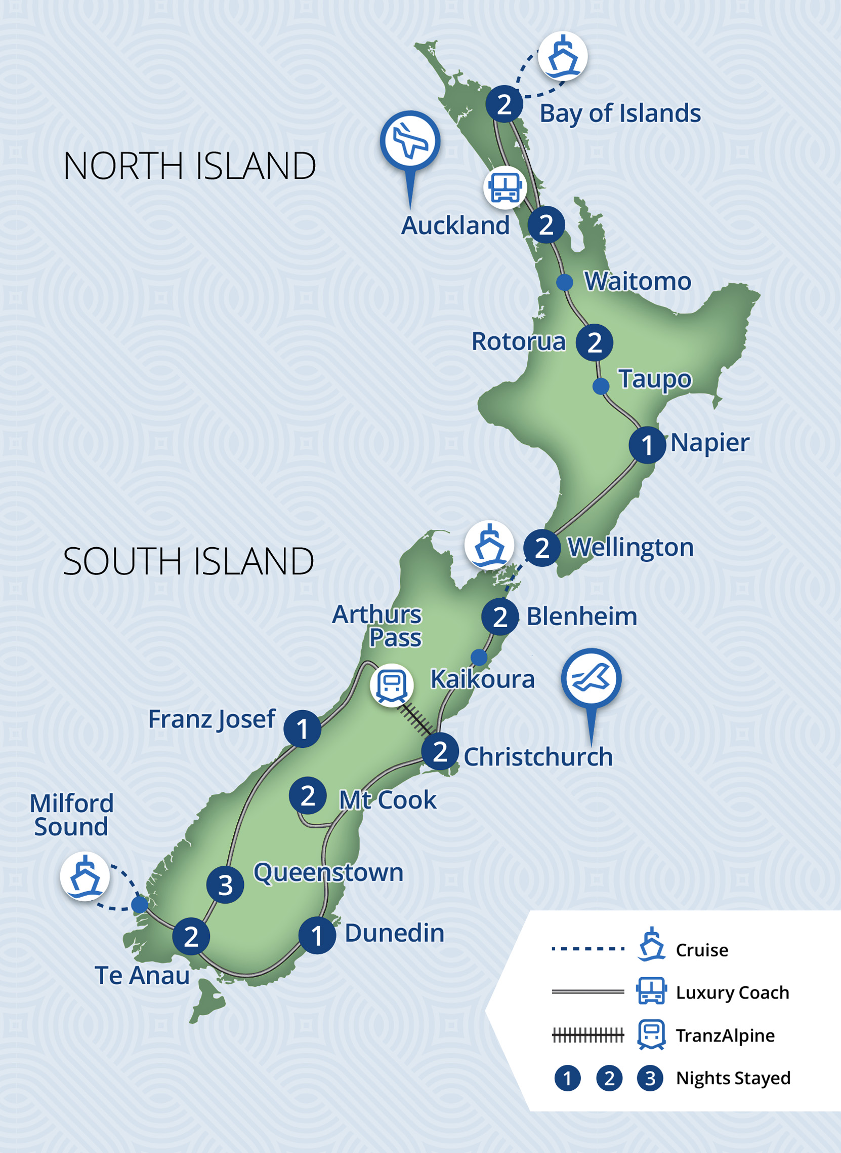 23 Day Magnificent New Zealand