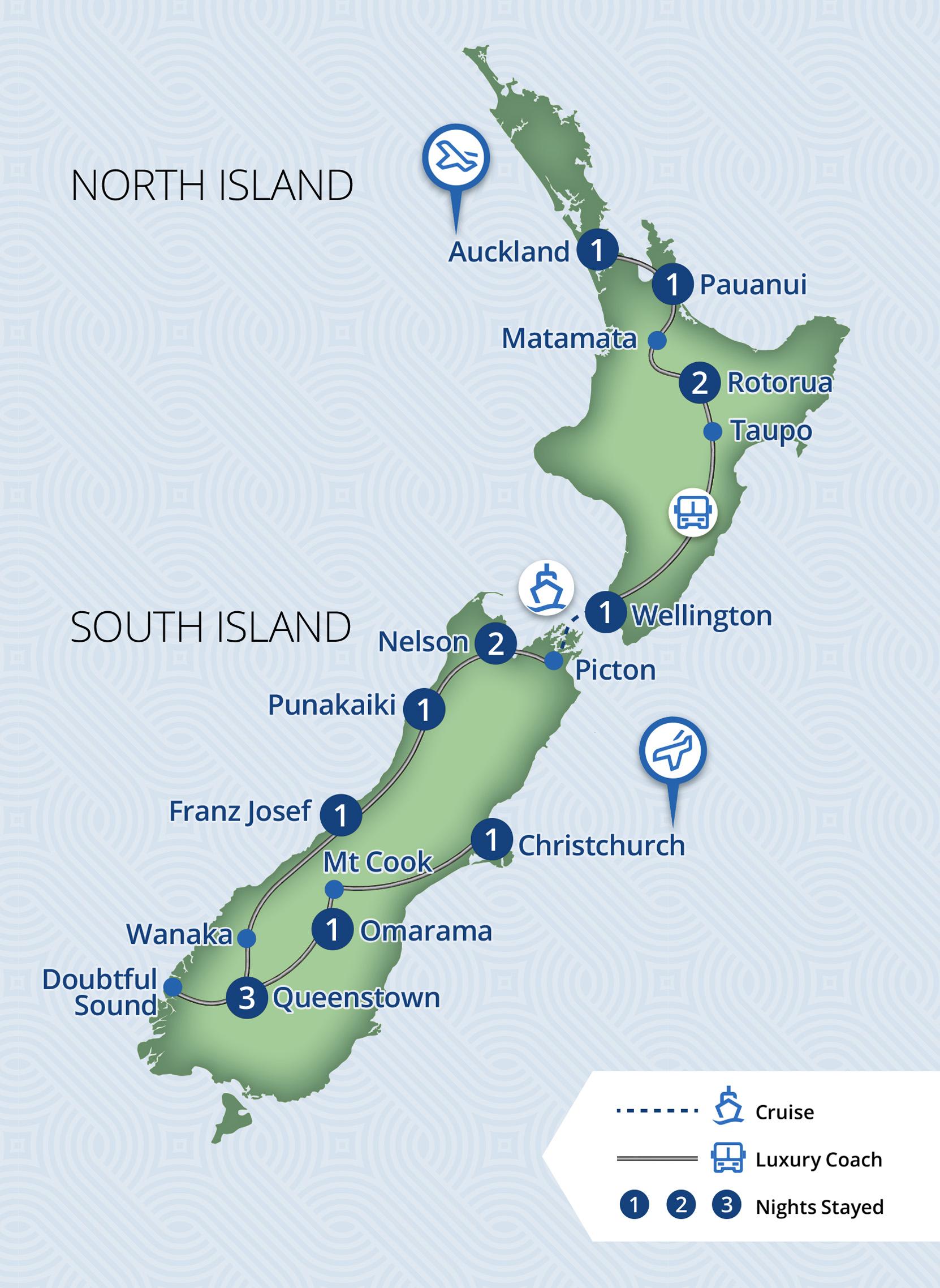 15 Day New Zealand Explorer