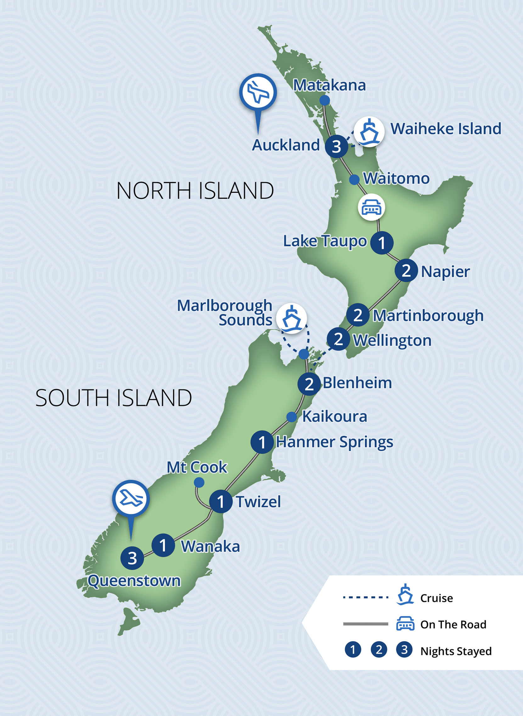19 Day Classic New Zealand Wine Trail