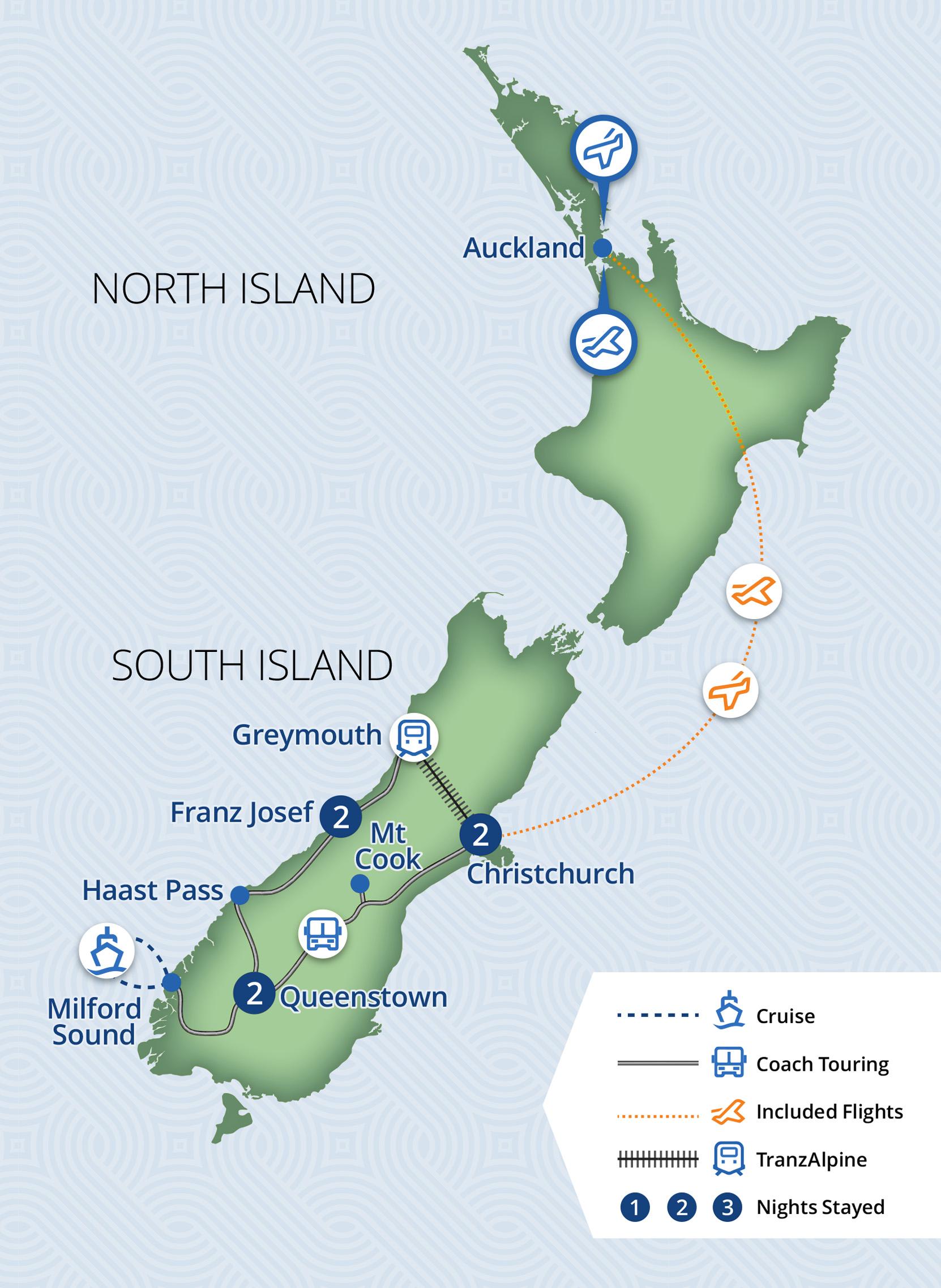 7 Day South Island Escape