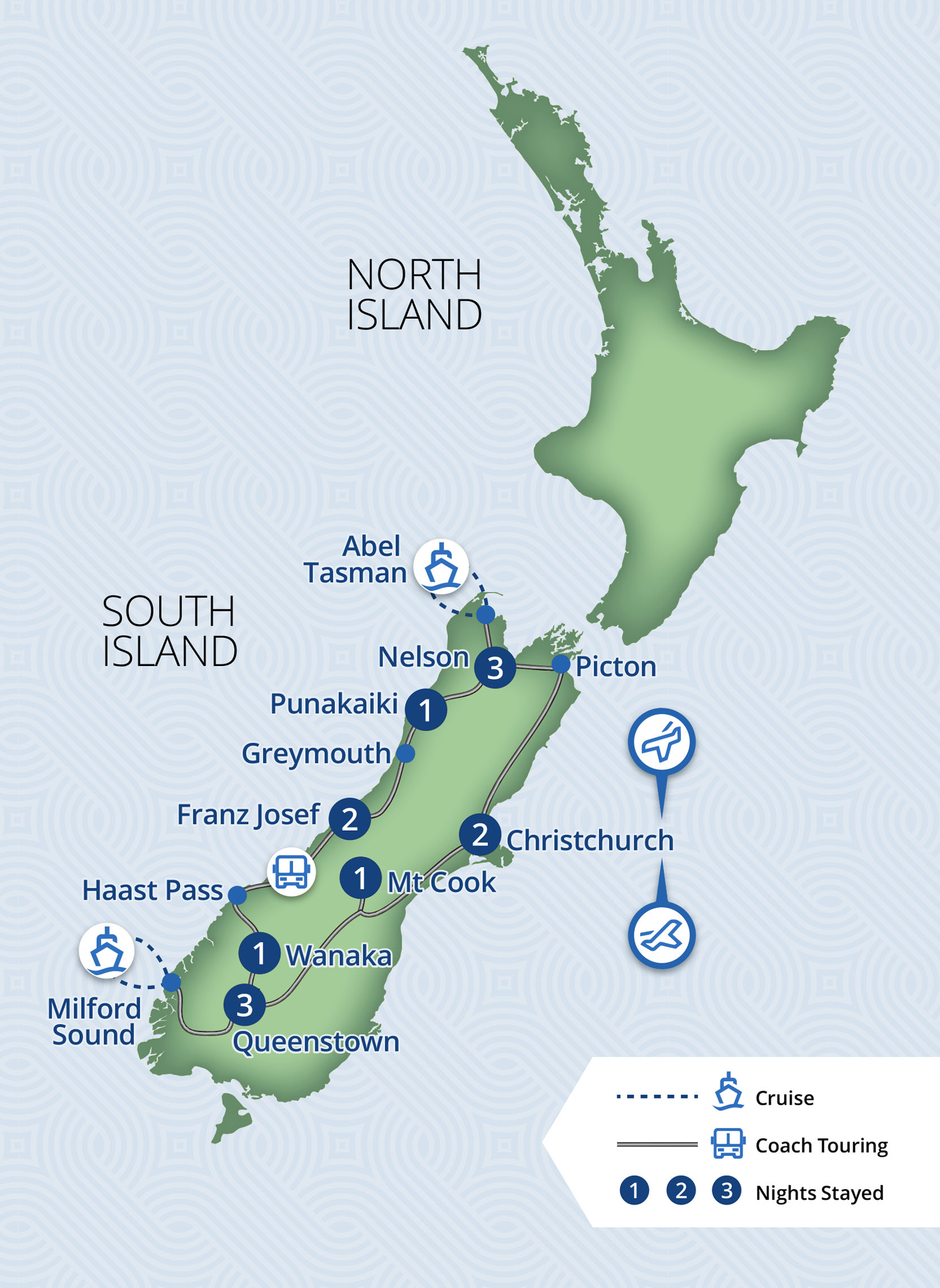 Grand South | 14 Day South Island Independent Coach Tour