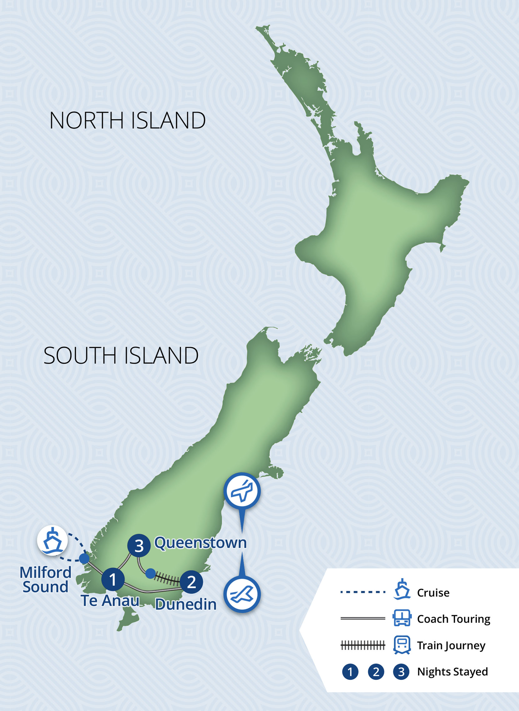 7 Day Otago & Southern Lakes