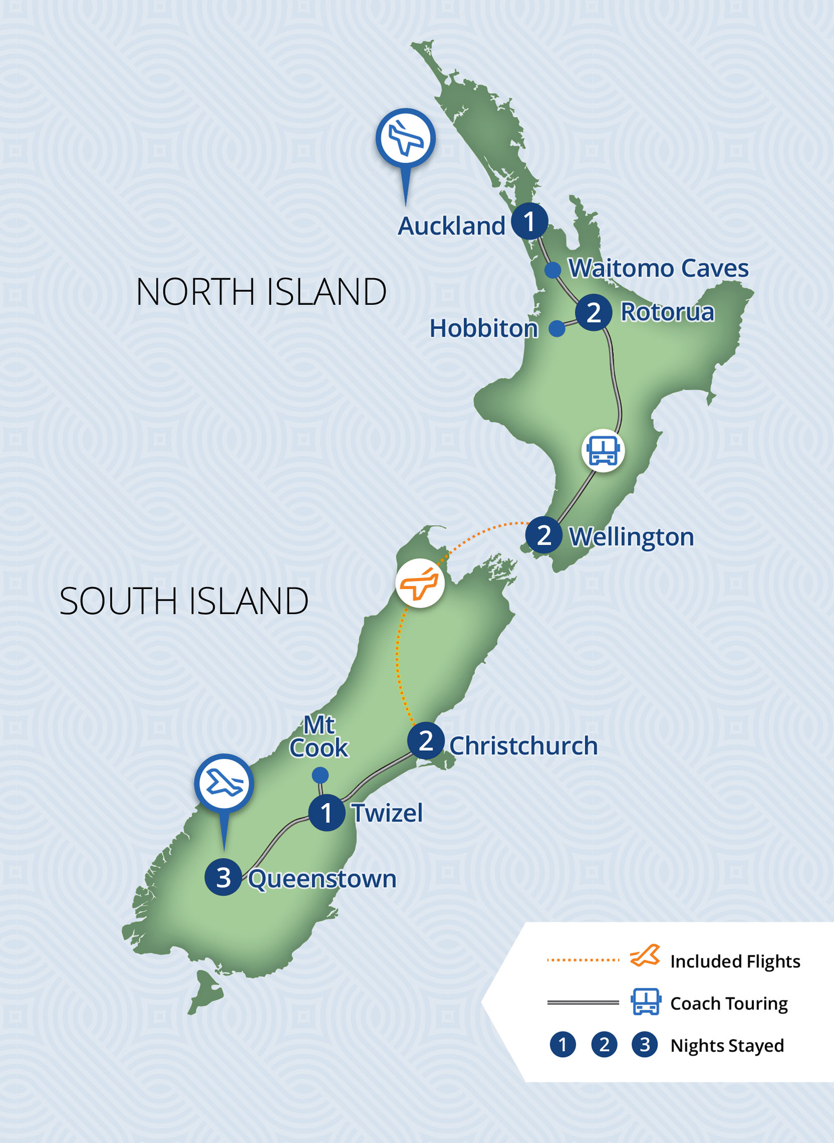 Middle Earth Discovery | 12 Day New Zealand Independent Coach Tour Tour