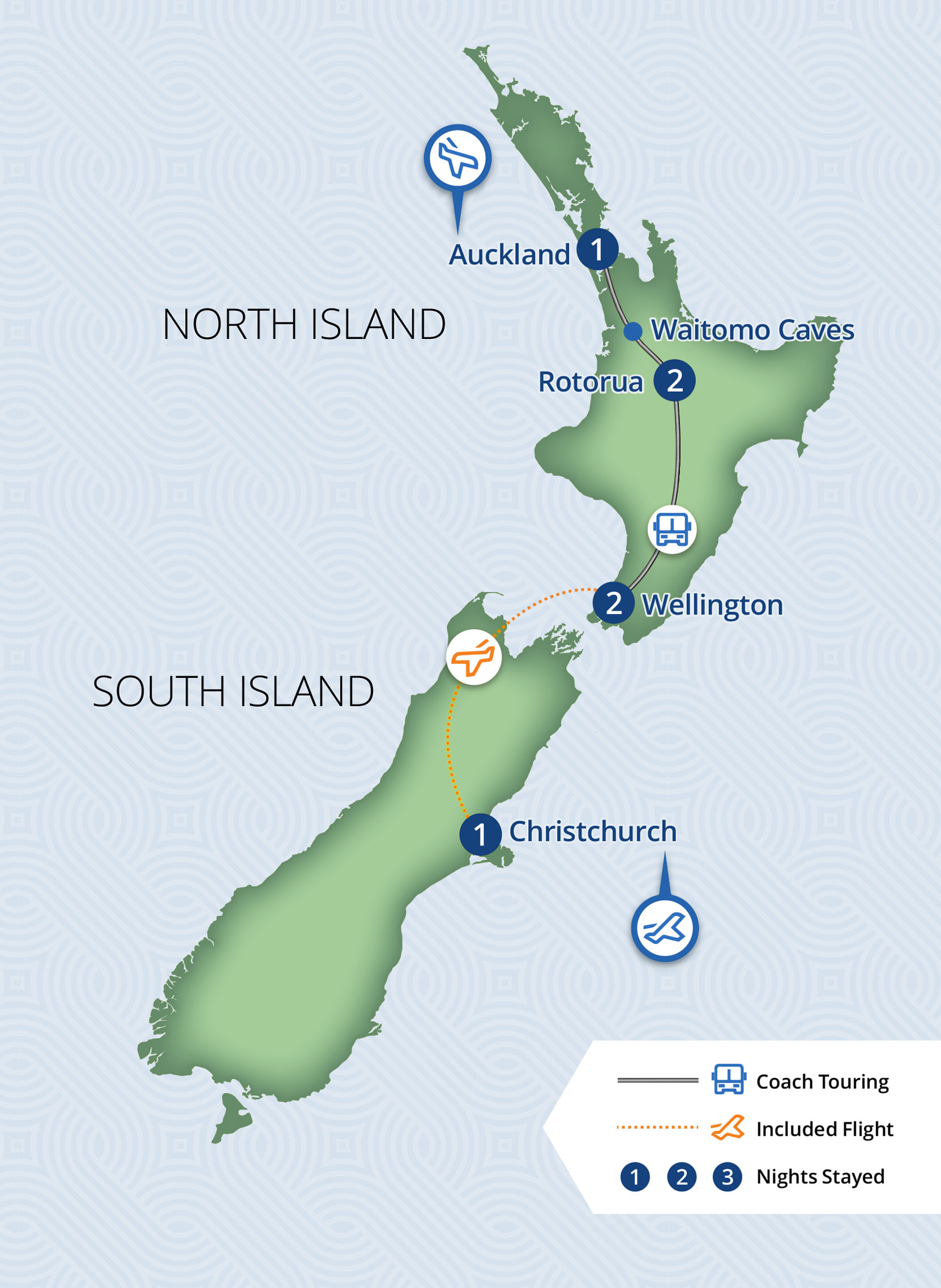 Southward Bound | 7 Day New Zealand Independent Coach Tour